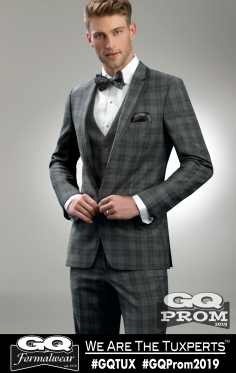 Ike Behar Plaid Hamilton Suit