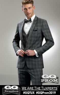 Ike Behar Plaid Hamilton Suit